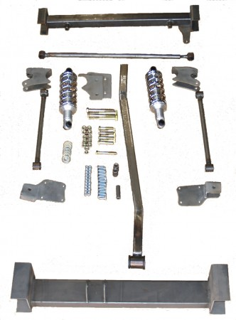 Torque arm rear suspension