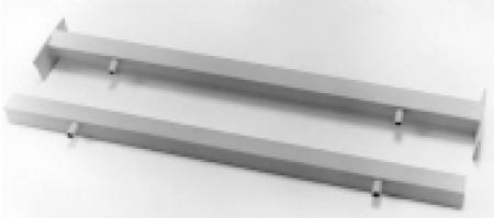 Rear shock crossmember for 35-40 unboxed frames