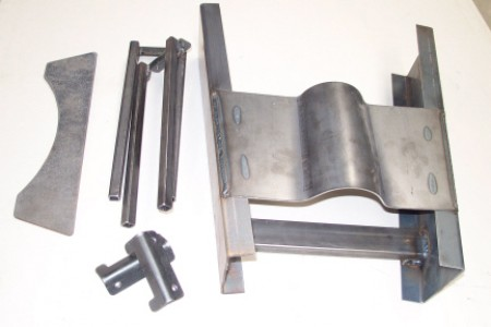 Wide X member kit for 35-40 Ford