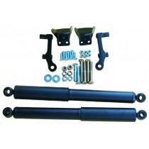 Bolt-in rear shock kit for 37-40 Ford w/OEM rear