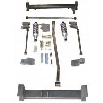 Torque arm rear suspension