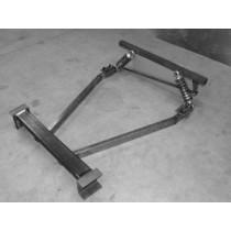 Trailing arm rear suspension kit-air spring- 41-46