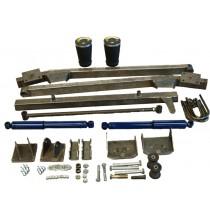 Trailing arm rear suspension kit-air spring- 47-55