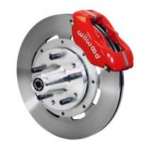 """12 """" Disc Brake Kit / Ford Spindles-polished calip"""