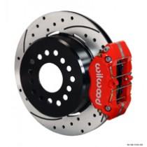 """12"""" Rear disc brakes w/drum E-brake"""