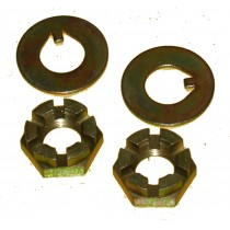 Spindle nut & washer kit-Early Ford