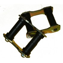 Spring shackles for WEEDETR rear kits