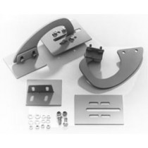 Hidden trunk hinge kit